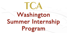 TCA Washington Summer Internship Program