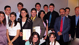 2009 Capitol Hill Summer interns pose with heads of TCA and TUSIAD-US while proudly displaying their Certificates of Appreciation.