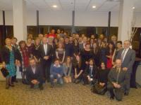 Turkish Canadian students with the congress organizers, speakers and TCA President G. Lincoln McCurdy.