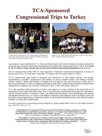 Turkish Caucus Day, U.S. Congress, March 31, 2012