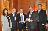 Turkish Embassy Ceremony Celebrates Turkish-Native American Ties and Mr. and Mrs. Tan's Contribution