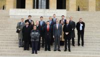 TCA's 16th Congressional delegation at Anitkabir, Ataturk's Mausoleum, in Ankara, Turkey