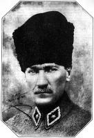 Kemal Pasha as Field Marshal of the Turkish Army