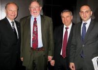 From left: TCA President Lincoln McCurdy, Rep. Don Young (R-Alaska), Deputy Undersecretary Cemalettin Damlaci, and Turkish Embassy official Onur Bulbul.