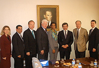 Congressional Delegation with Foreign Minister Davutoglu.