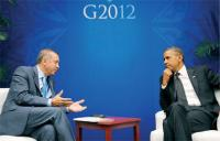 President Obama and Turkish PM Erdogan at G-20 Summit