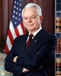 Senator Robert C. Byrd (1917-2010).