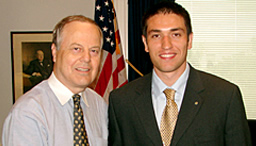 Congressman Whitefield, Yenal Kucuker.