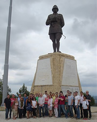 TCA Congressional Delegation at the Atatürk Memorial at Conkbayiri, Gallipoli.