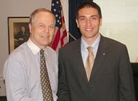 Congressman Whitfield and Yenal Kucuker.