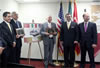 Turkish Coalition of America donates two ambulances to Mexican Red Cross